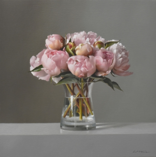 """Peonies, early June"" Oil on Canvas by Lucy McKie"