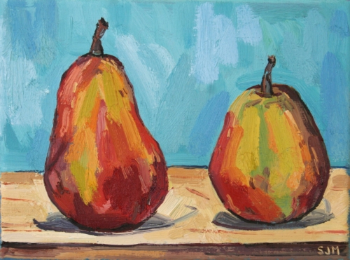 Companion Pears by Sarah Jane Moon