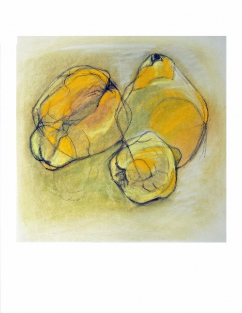 '3 Quinces' by Karen Stone
