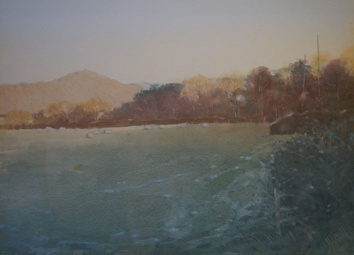'Winter in the Valley' by Colin Allbrook