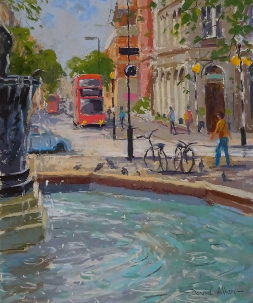'Sloane Square' by David Allen RSMA