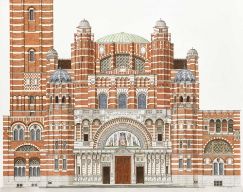 'Westminster Cathedral' by Varsha Bathia