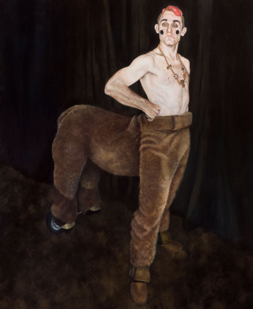 'Tweedy in Centaur Costume' by Melodie Cook PS