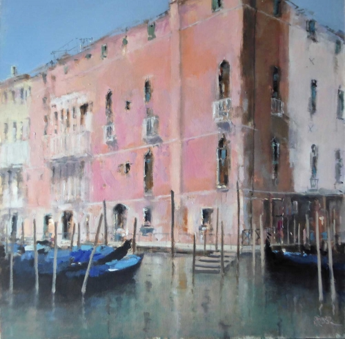'Palazzo Morosini Sagredo' oil painting by Brian Ryder