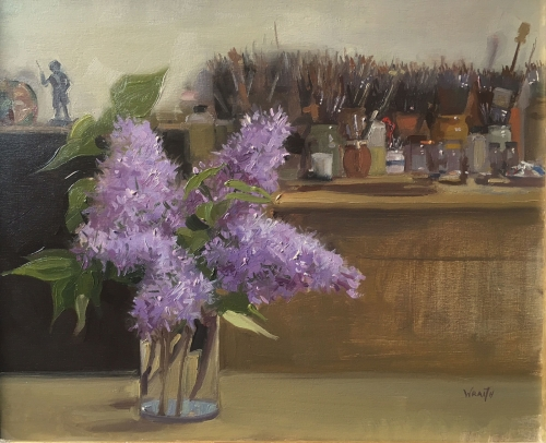 Lilacs and Brushes by Robbie Wraith RP