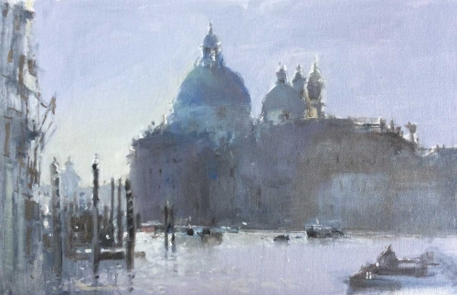'Santa Maria della Salute' oil painting by Brian Ryder