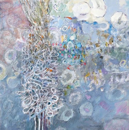 """Twisted Form"" Mixed Media by John Sprakes"