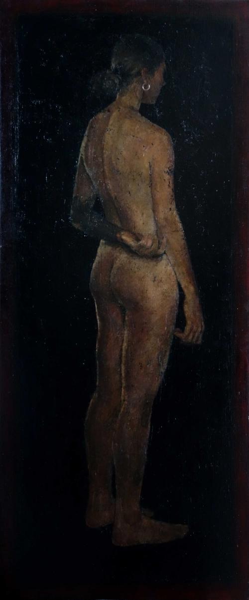Bernadett Timko Standing Nude