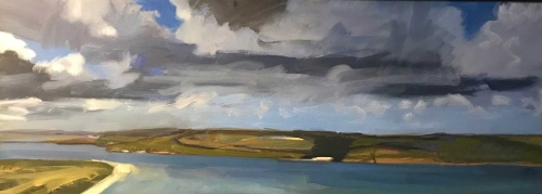 'Storm over Brae' by Lucinda Storm
