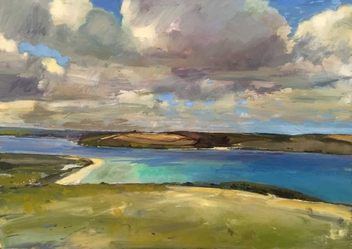 'View from Brae Hill' by Lucinda Storm