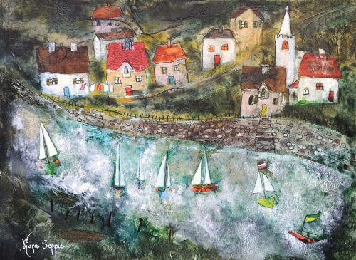 Waterside Village by Rosa Sepple PRI