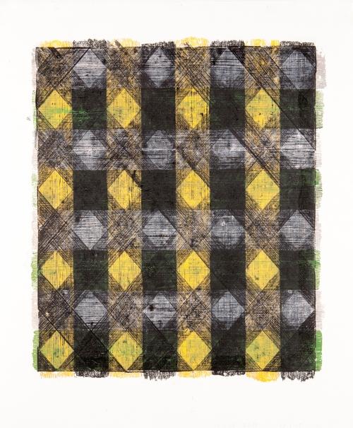 DVHgreenmauveorangeblack by Peter Rasmussen Buy Art
