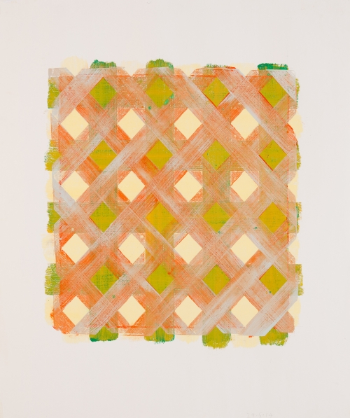 DVHyellowgreenorangegrey by Peteer Rasmussen Buy Art