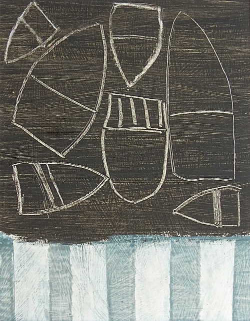 See Sawing Sea by Malcolm Taylor PS