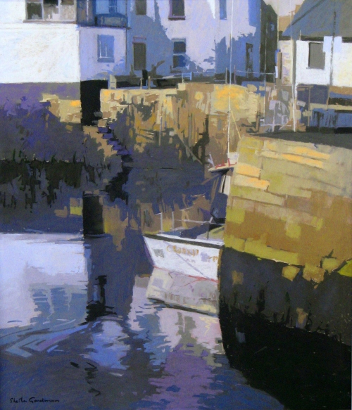 Quayside by Sheila Goodman PS