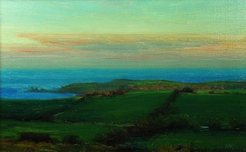 'Late Afternoon, The Island' oil painting by Kenny McKendry