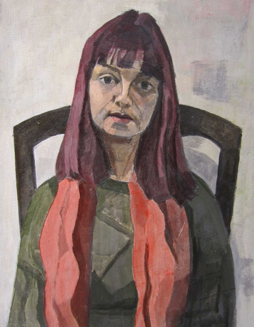 'Resurrection' oil painting by Eve Pettitt