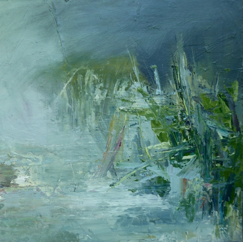 Sally Wyatt Water Reeds Mall Galleries Buy Art