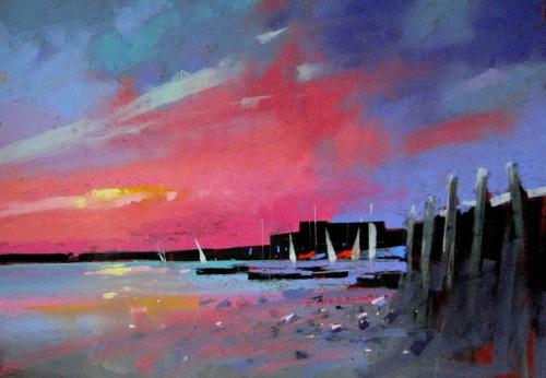 Tony Allain Bosham Sunset
