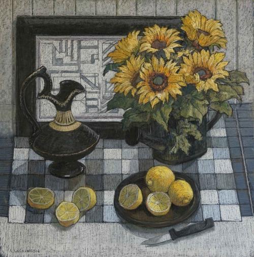 Ann Wilkinson Sunflowers and Lemons