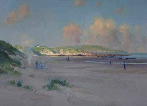 Cheswick Beach by Frances Bell