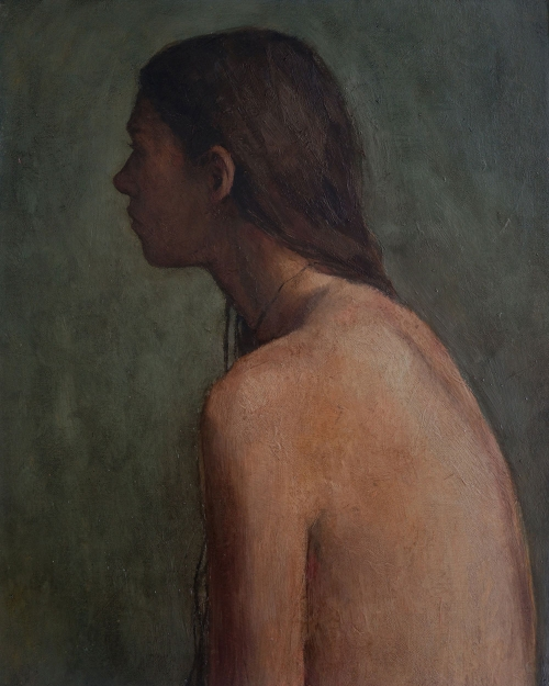 Self-Portrait by Bernadett Timko