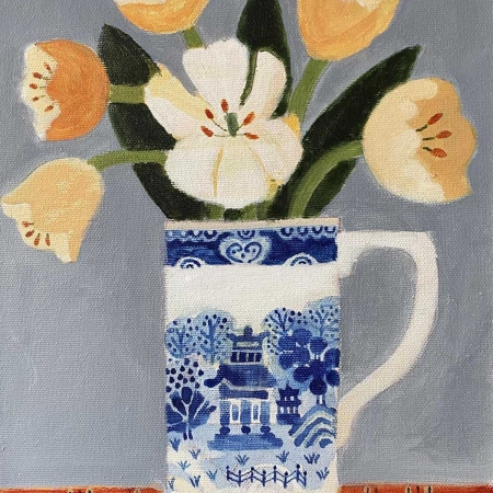 Leman-Jill-Tulips-In-A-Willow-Pattern-Jug.jpg
