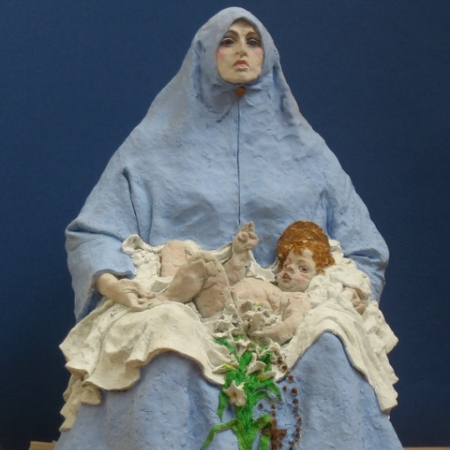 'Virgin Mary' sculpture by Alexander Goudie