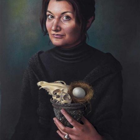 'Vanitas - Self Portrait' by Miriam Escofet