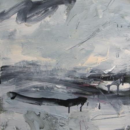 'Snow Light, Black Ridge' by Louise Balaam