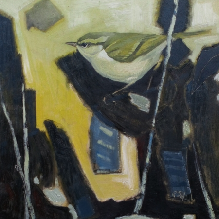 """""""Bars and Stripes"""" Oil on Board by Paul Hartley"""