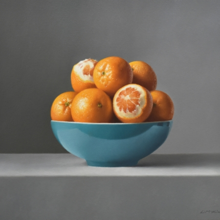 """Seville Oranges in Summer"" Oil on Canvas by Lucy McKie"