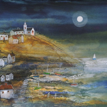 Coastal Village by Rosa Sepple PRI