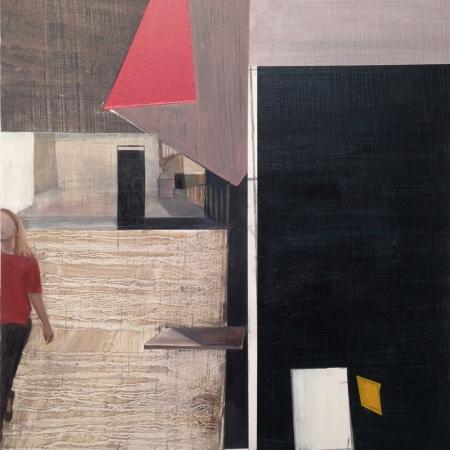 Girl Walking by Gail Seres Woolfson