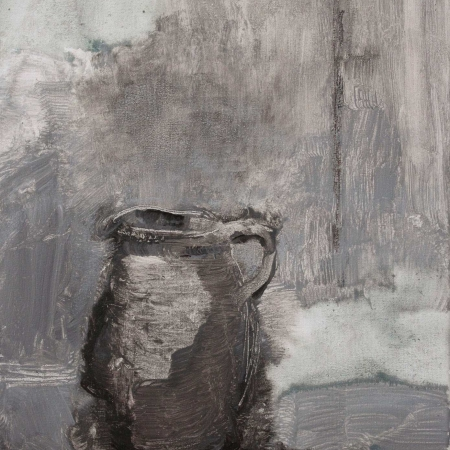 """Jug"" Mixed Media on Canvas by Lucie Geffré"