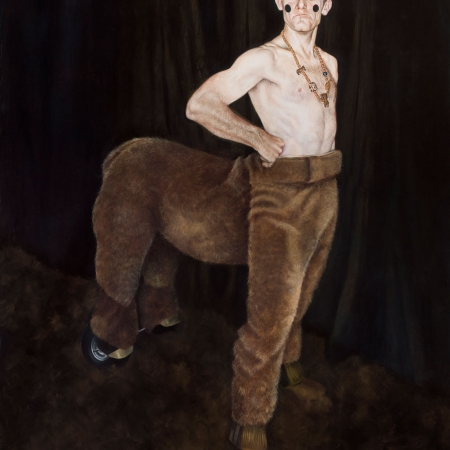 'Tweedy in Centaur Costume' by Melodie Cook PS