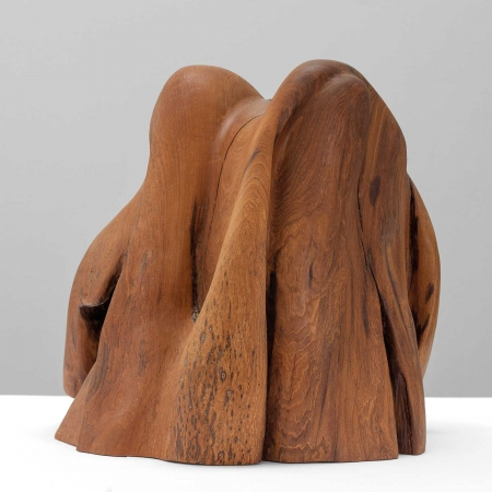 """Vegetable Animal"" Wooden Sculpture by Teresa Hunyadi"