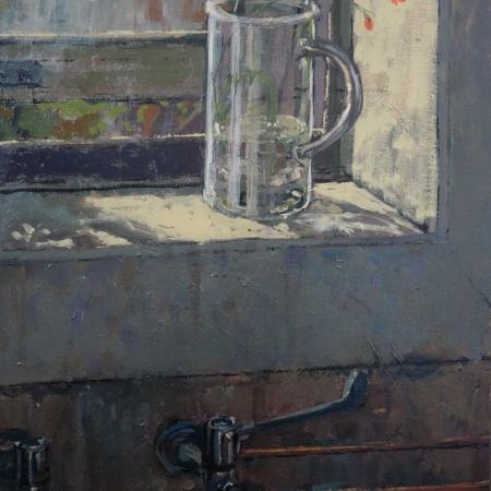 """Morning Sun"" Oil on Canvas by Bernadett Timko"