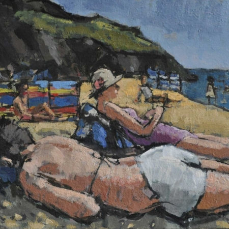 'Down on the Beach' by Anthony Yates RBA