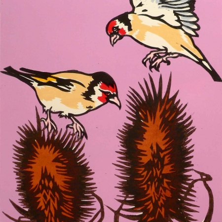 Goldfinches by Chris Gilbert Buy Art