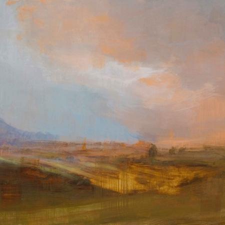 Landscape Evening Light by Annie Boisseau Buy Art