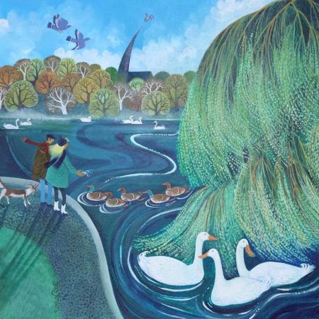 Wimbledon Park by Lisa Graa Jensen RI Buy Art