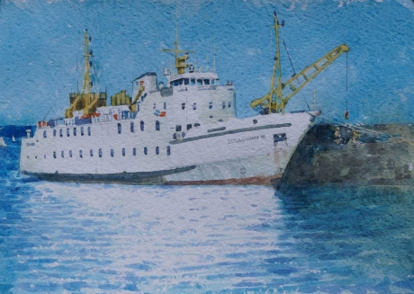 Allbrook-Colin-The-Scillonian-Penzance-Harbour.jpg