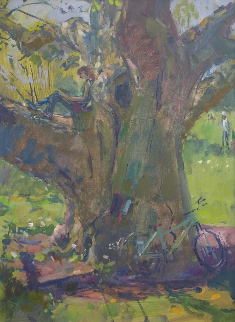 Farmer-Andrew-Girl-Reading-Oils-on-panel-.jpg