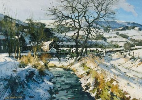 McCombs-John-Winter Morning Sunlight, River Tame, Delph.jpg