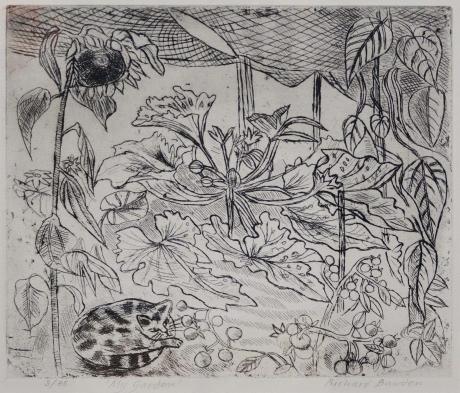 """Bawden-Richard-""""My Garden"""" etching £250.jpg"""