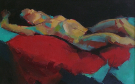 LynGrayFigure-reclining-on-red-and-green.jpg