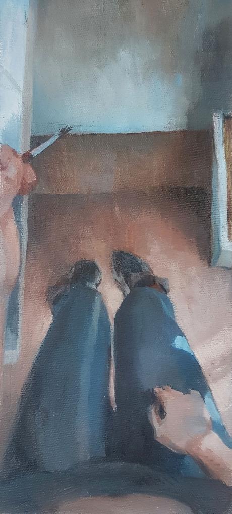 SuzonLagarde-self-portrait-looking-down.jpg