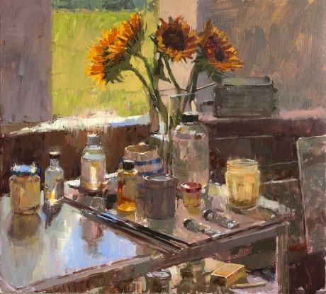 Summers-Haidee-Jo-Sunflowers-in-the-Studio.jpg