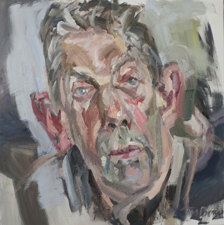 'Clive', oil on canvas, 40inches x 40inches, £4500.JPG